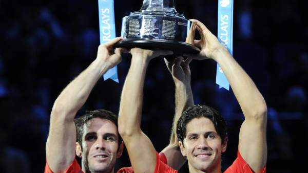 David Marrero y Fernando Verdasco, maestros