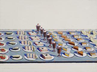 'Salad, Sandwiches and Dessert', 1960