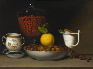 'Still Life - Strawberries, Nuts, &c.', 1822