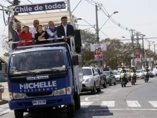 Michelle Bachelet es la favorita para las presidenciales de Chile