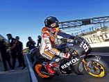 Márquez prueba la moto de la próxima temporada