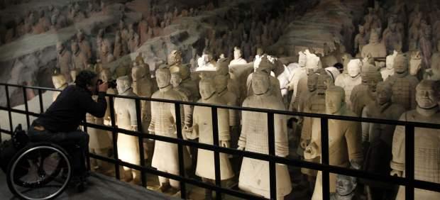 La exposici�n de los guerreros de Xian, en Madrid