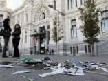 Huelga de basuras en Madrid