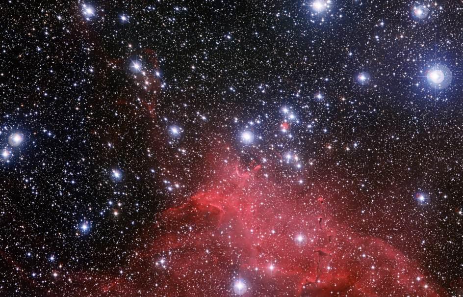 El impresionante cúmulo estelar NGC 3572