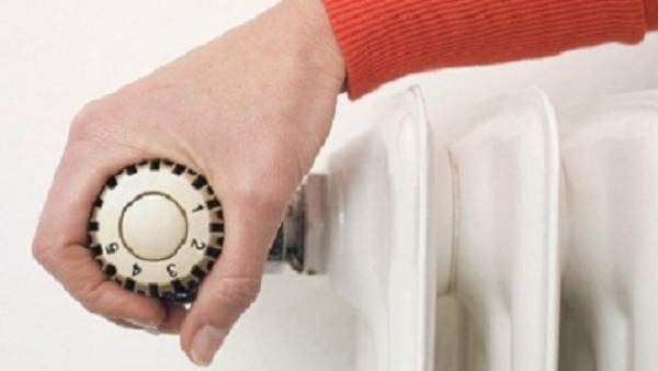 Sistema de control de temperatura de un radiador.