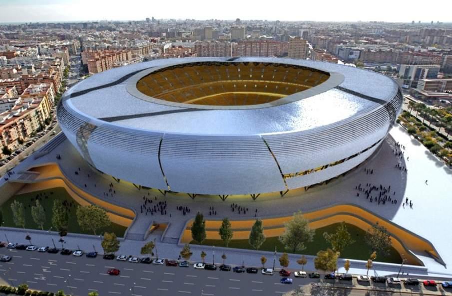 El valencia reducir en sesenta millones de euros el coste - Campo de futbol del valencia ...