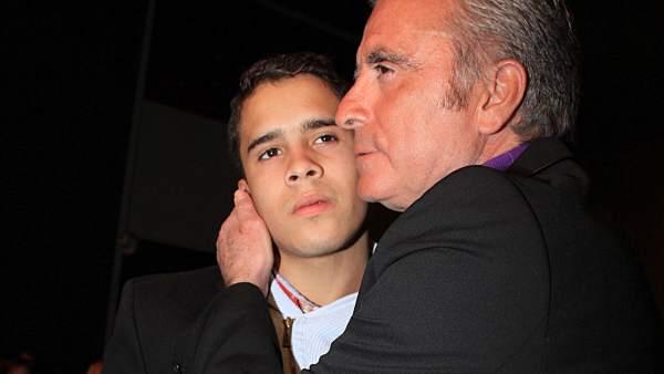 José Ortega Cano y su hijo, José Fernando