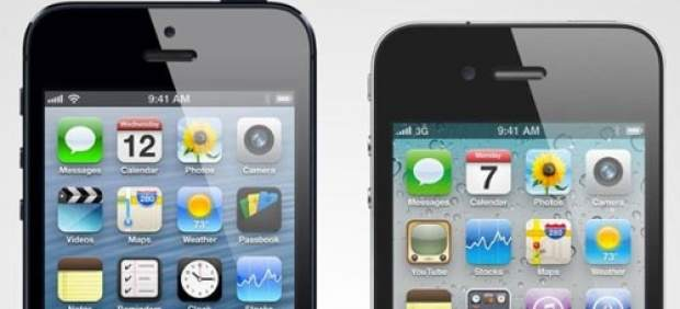 El próximo iPhone de Apple será más grande y tendrá dos tamaños: 4,5 y 5 pulgadas