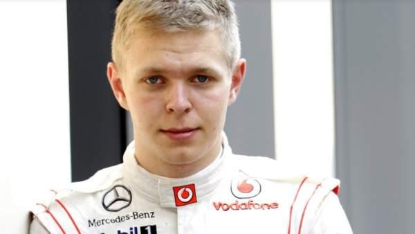 El piloto danés Kevin Magnussen