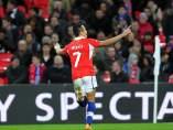 Alexis Sánchez, figura en Wembley