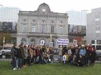 Erasmus españoles en Bruselas
