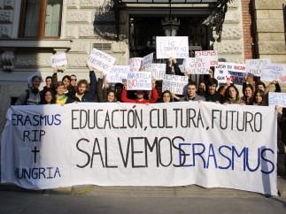 Erasmus en Hungría