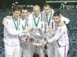 La República Checa gana la Davis