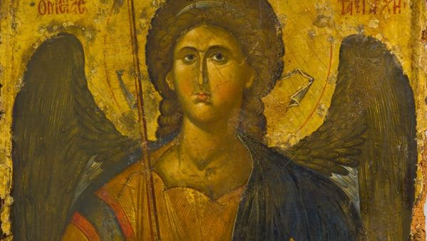 'Icon of the archangel Michael', first half 14th century