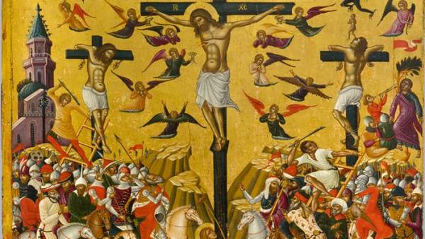 'Icon of the Crucifixion', second half of 15th century