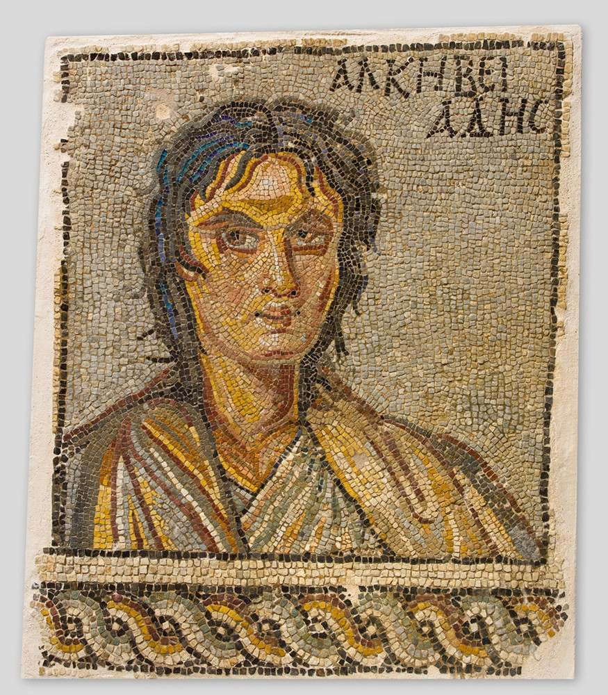 'Portrait of Alcibiades', late 3rd - early 4th century
