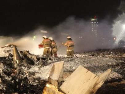 Un avión de pasajeros se ha estrellado en Rusia.