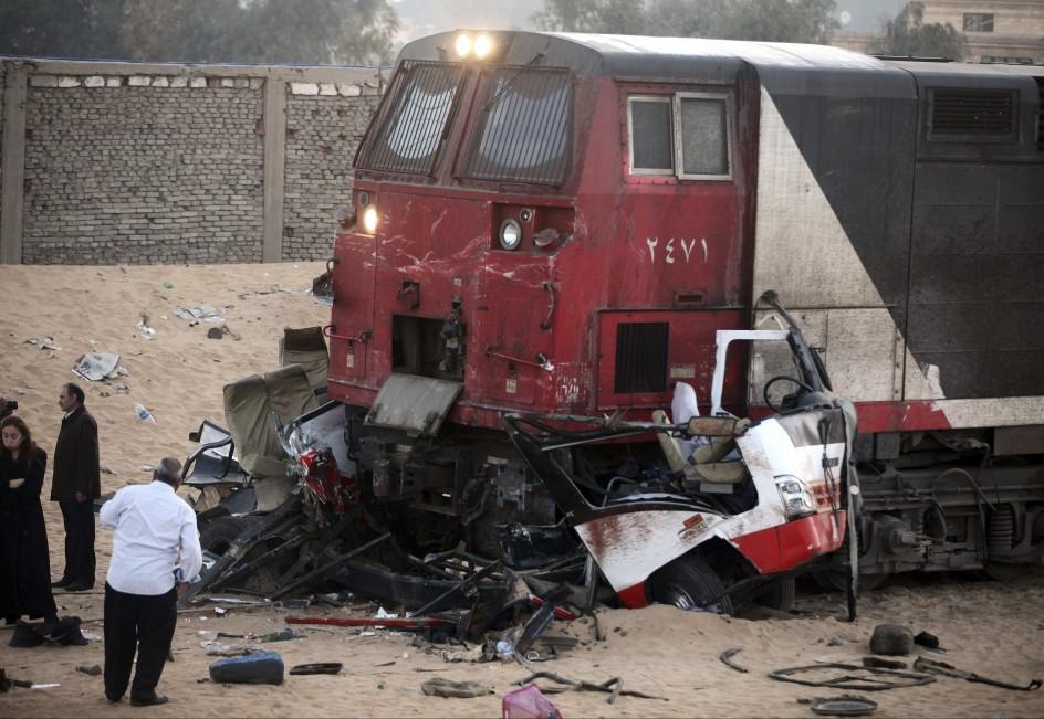 Mortal choque en Egipto