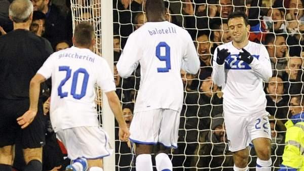 Guiseppe Rossi con Italia