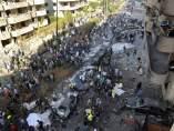 Atentado en el sur de Beirut