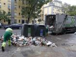 Recogida de basura en Madrid