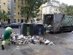 Limpieza viaria en Madrid