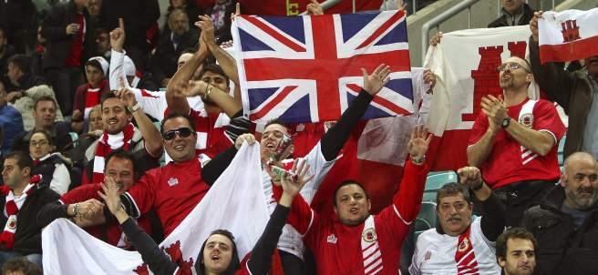 Aficionados de Gibraltar