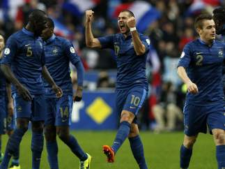 Benzema con Francia