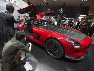 El 'Alas de gaviota' SLS AMG GT
