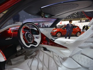 Coche eléctrico de Renault, el 'DeZir'