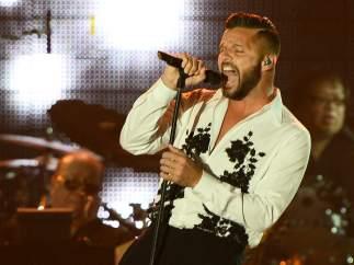 Ricky Martin participa en el homenaje