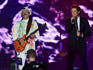 Carlos Santana, en el Mandalay Bay