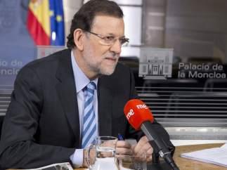 Mariano Rajoy, en RNE