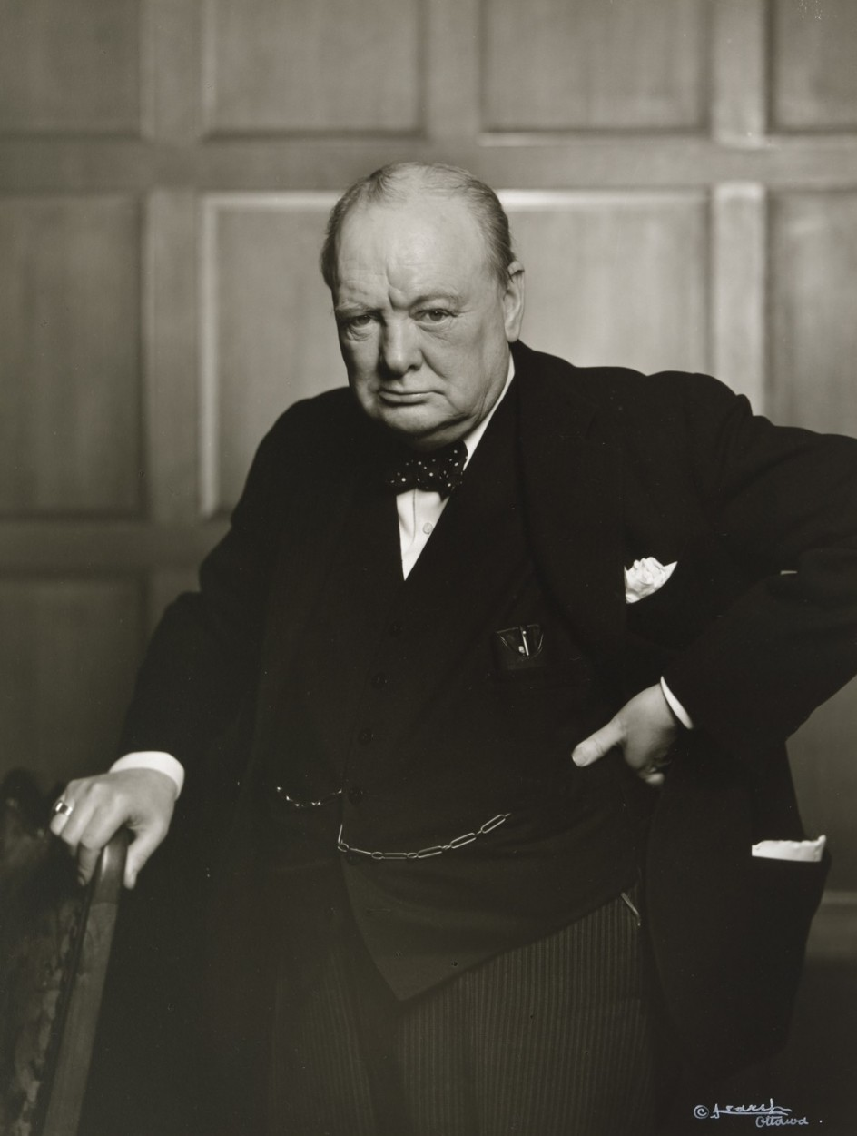 a biography of winston leonard spencer churchill Winston churchill is often hailed as the model of a great leader, but a hundred   in terms of loss of resources, loss of life and even loss of wars.