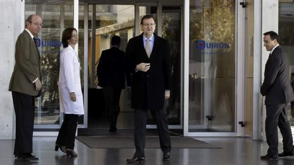 Rajoy visita al rey