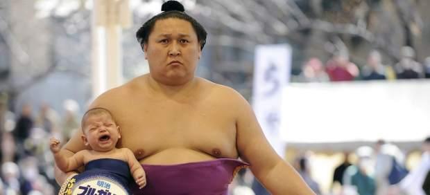 Kyokutenho, sumotori nacido en Mongolia