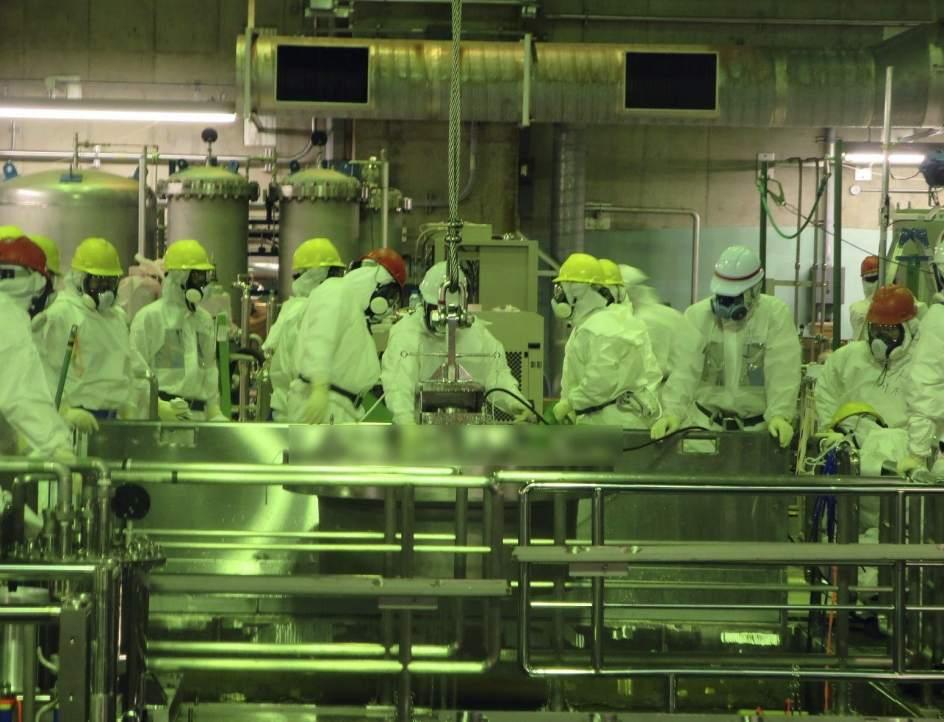Inspeccionan el desmantelamiento de Fukushima