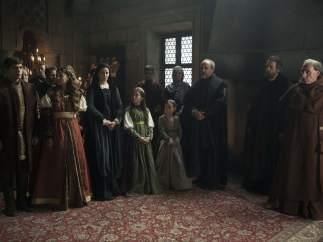 Tercera temporada de 'Isabel'.