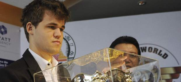 El ajedrecista Magnus Carlsen