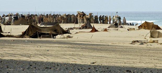 Shooting 'Exodus' on Fuerteventura