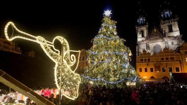La Plaza de la Ciudad Vieja de Praga