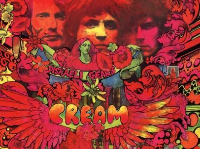 """Disraeli Gears"", (Cream) 1967"