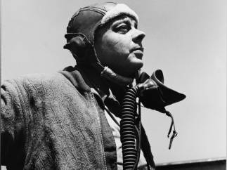 'Antoine de Saint-Exupéry in Alghero', Sardinia, May 1944