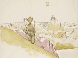 'Drawing for The Little Prince' -4