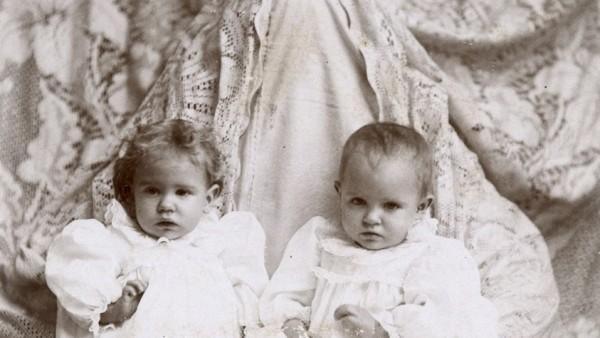Two babies I.C. Avery, Sedan, Kans.