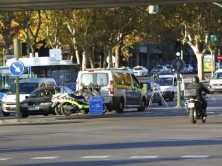 Radar móvil en Madrid