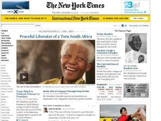Portada del New York Times