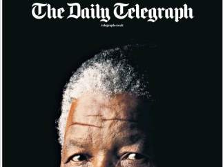 The Daily Telegraph y Mandela