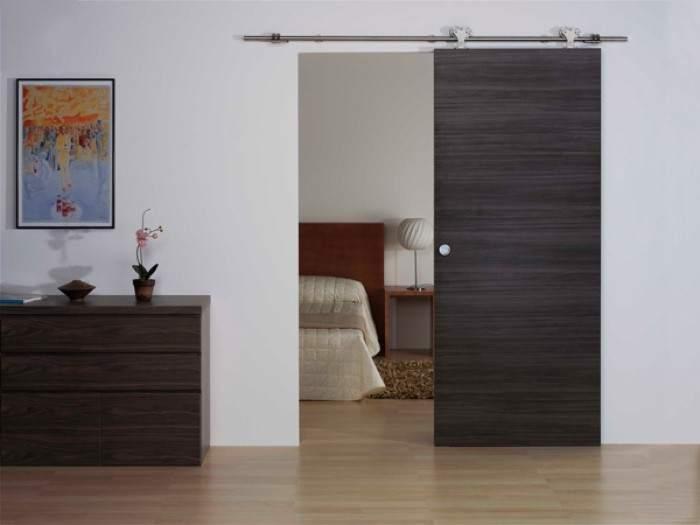Si de ahorrar espacio se trata puertas correderas - Puertas correderas para dormitorios ...