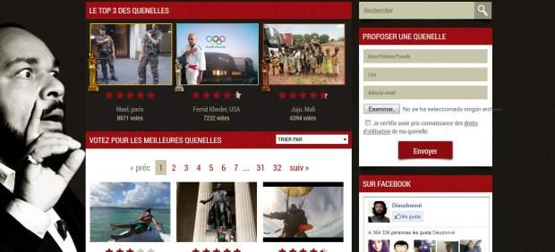 'Quenelle', el pol�mico gesto de moda en Francia